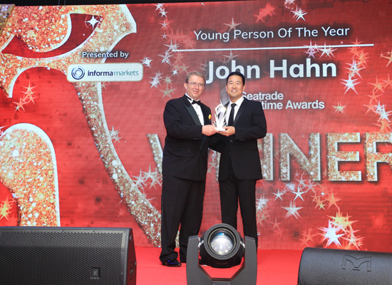 Young Person of the Year 2019 John Hahn, CEO and Co-Founder, Ocean Freight Exchange