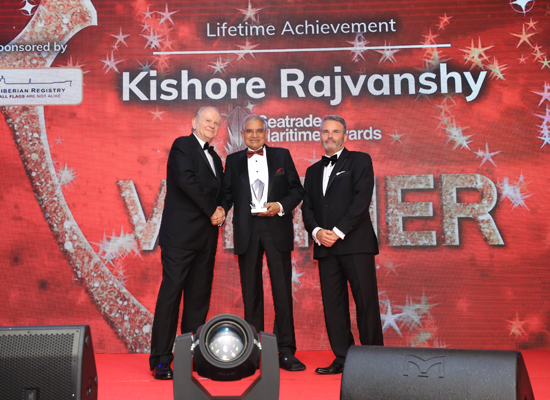 Lifetime Achievement Award Kishore Rajvanshy, Managing Director, Fleet Management Ltd