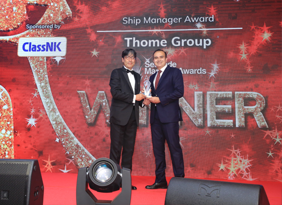 Ship Manager Award WINNER: Thome Group