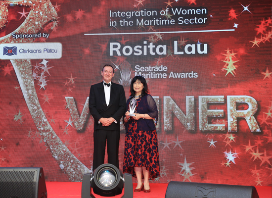 Integration of Women in the Maritime Sector Award Rosita Lau, Partner, Ince