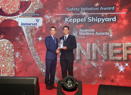 Safety Initiative Award WINNER: Keppel Shipyard Ltd